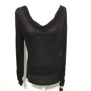 🆕 INC International Concepts Wrap Blouse size M